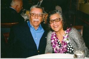 Philip and Louella Cruz celebrated 40th wedding anniversary in March