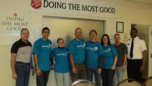 Ameriprise Financial Volunteers Join Nationwide Effort to Feed Hungry Families at The Salvation Army