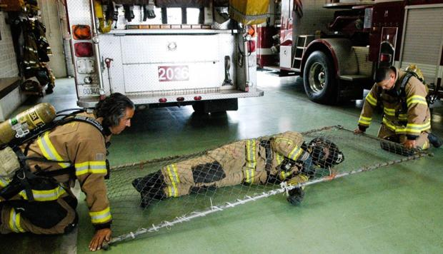 Lodi Fire Department holds 'mayday' training
