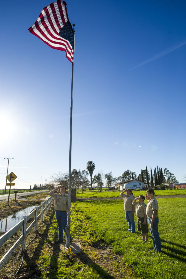 Tiffani Jacobs discusses the importance of flag etiquette in new program