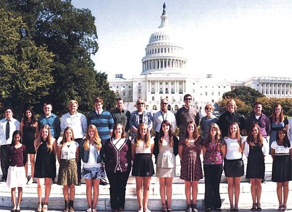 Lodi students visit Washington, D.C.