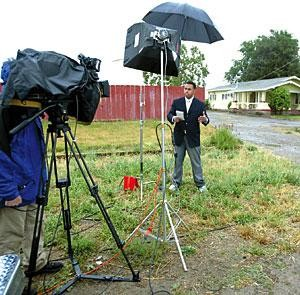 National, regional media swarm over Lodi