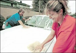 Local car washing business is on the move
