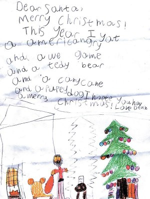 Letters to Santa, Sack 7 of 13