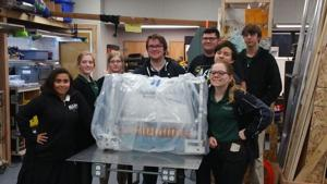 Jim Elliot Christian's robotics team sets sights on world championship