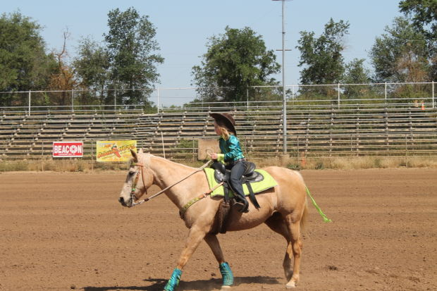 Alexandra Souza- San Joaquin County Horseman's Association's Little Miss Contestant