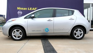 Going green: Lodi resident Richard Harty purchases Nissan Leaf