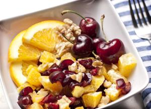 Eat cherries plain or  in a variety of recipes for a nutritious snack