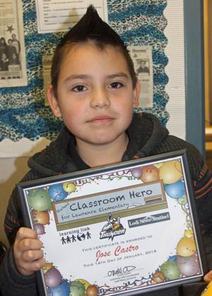 Lawrence Elementary School Classroom Heroes