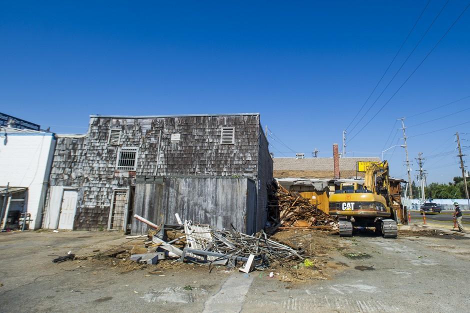 Lodi loses a landmark