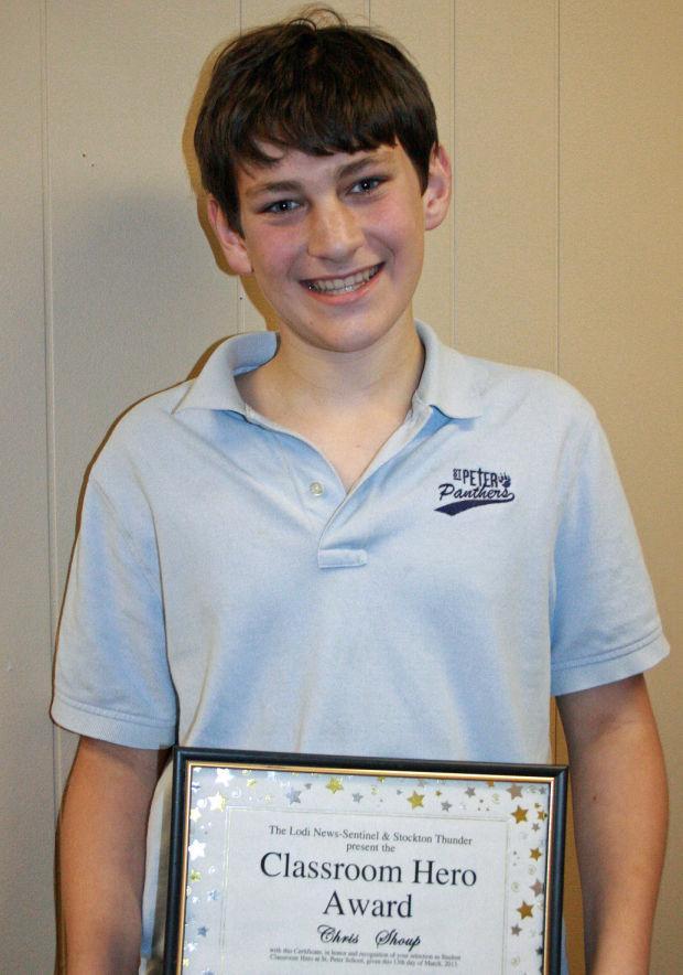 St. Peter Lutheran School names Classroom Heroes