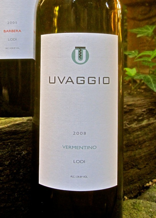 Uvaggio's Vermentino features light, breezy, lemony flavor