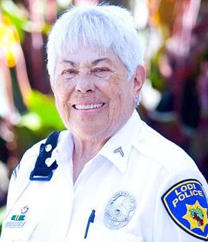 Lodi Police Partner Bernice Olavsen feels satisfaction in helping keep city clean and safe