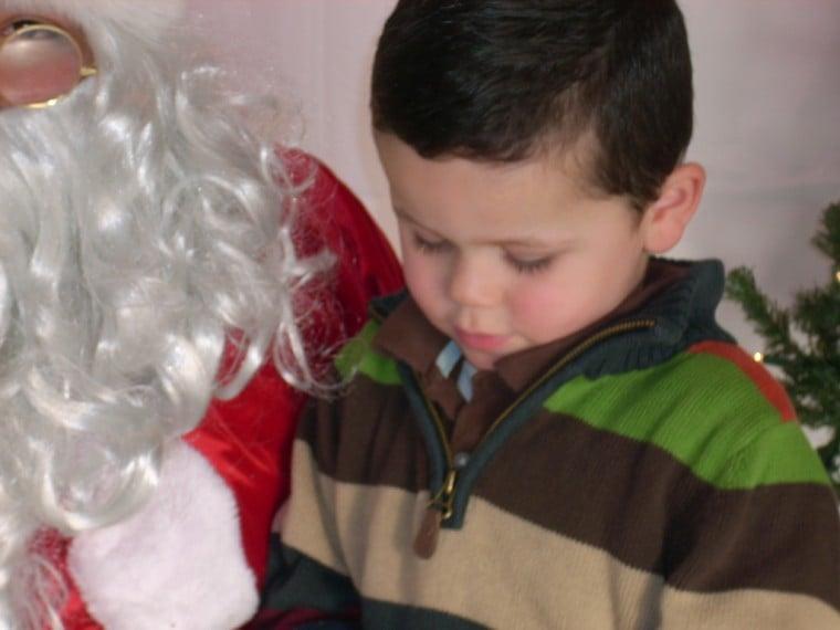 alex and santa