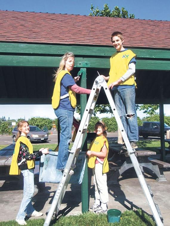 Church volunteers landscape areas in Lodi and Galt during clean-up day
