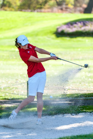 Girls golf: Flames remain unbeaten