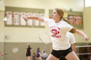 Girls badminton: Flames top Tigers