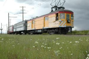 Ride the historic Sacramento Northern Railway