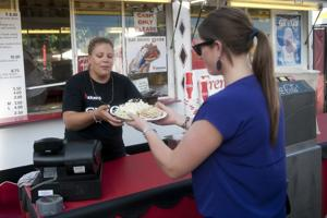 Emergency medical technician, dietitian find tasty, healthy meals at Lodi Grape Festival