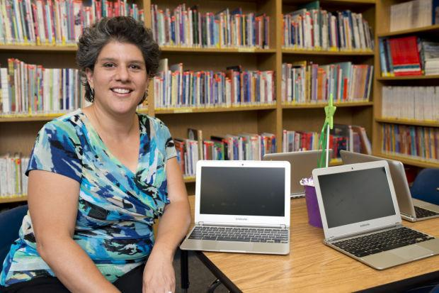Supervisor Jennifer Collier provides a look into Galt's new learning centers