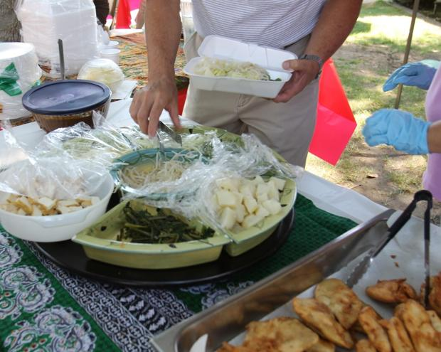 International Food Fair offers Lodians chance to sample worldwide vegetarian cuisine