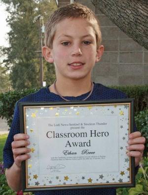 Oak View Elementary School names Classroom Heroes