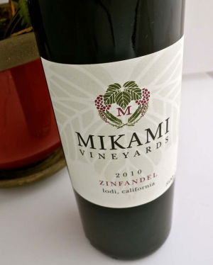 Mikami Vineyard's 2010 Zinfandel is dense, velvety