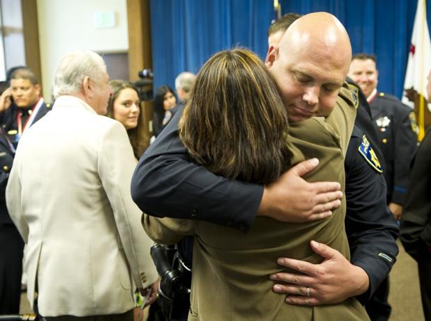 Lodi Detective Eric Bradley receives highest public safety award