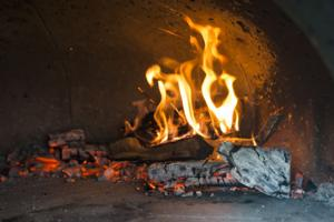 Wood-fired pizza makers Nick and Shelly Guantone share love for food