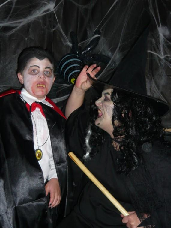 Dracula meets Winnie the Witch!