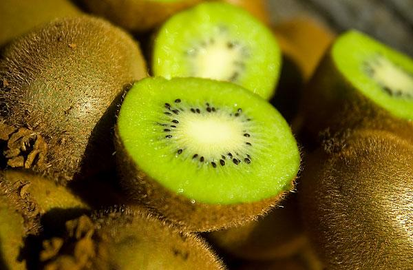 Kiwi fruit adds flavor and color to a variety of dishes