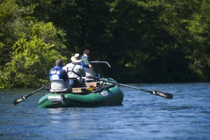 Rafting on the wild Mokelumne River