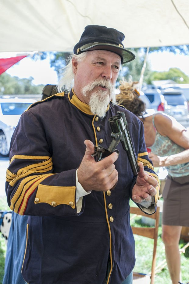 Living History and Civil War encampment in Lockeford