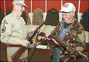 Galt honors veterans with displays at community center
