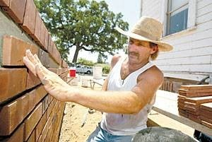 Historic Lockeford schoolhouse under restoration