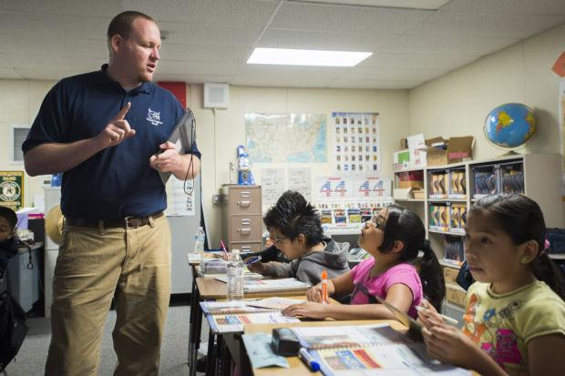 Lodi Unified School District program a new page for struggling students