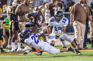 Football: Tigers' late rally comes up just short