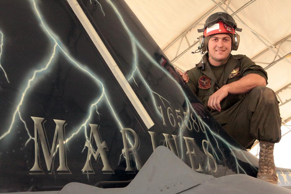 Lodi Marine Cpl. Joseph Millunzi talks about life in the combat zone