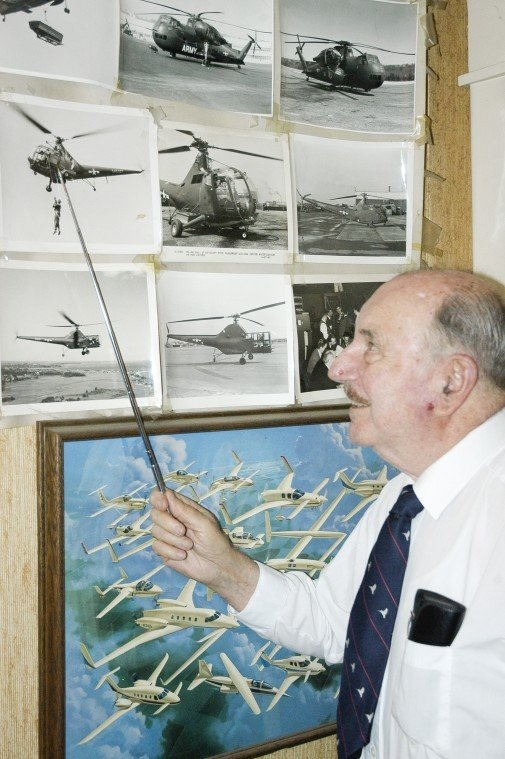 Woodbridge resident Tony Paradiso discusses being a helicopter pioneer