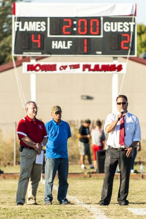 Boys soccer: Flames honor former coach Don Rostomily with victory over Bulldogs