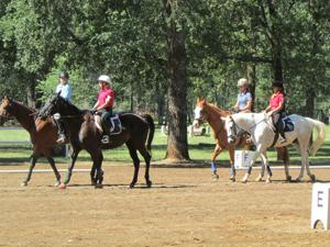 Liberty Oaks Pony Club members attend family camp