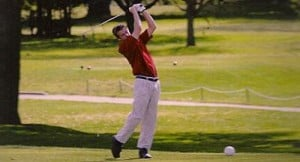 Lodi golfer Garrett Baffoni recovering from broken back