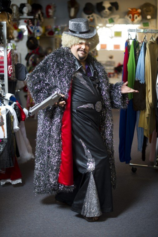 Dressing a dream: Billy De Herrera has fun, tests the limits of costume making