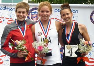 Lodi's Natalie Bowman defends U.S. pentathlon title