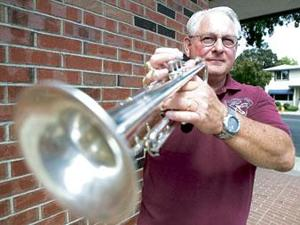 Lodi Community Band members provide entertainment to the community