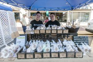 Rustic Puff co-owner Heather Frades explains the art of flavoring marshmallows