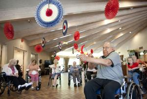 Lodi's Vienna Nursing Center hosts its own version of the 2016 Olympics