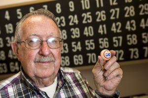 LOEL Center Bingo leader Bob Gruwell spreads joy through the game