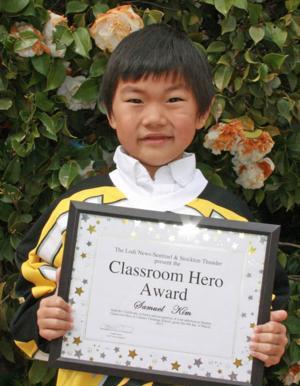 Century Christian School names Classroom Heroes