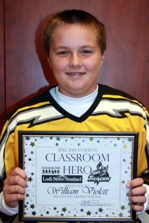 Millswood Middle School names Classroom Heroes